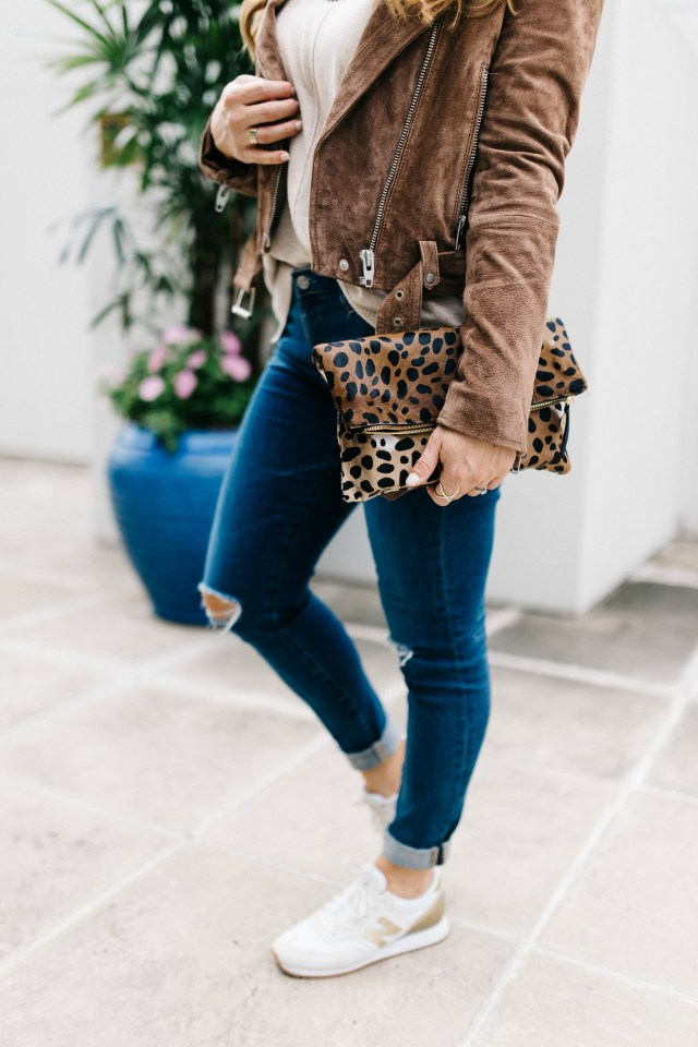 Leopard Clutch | January Hart Blog