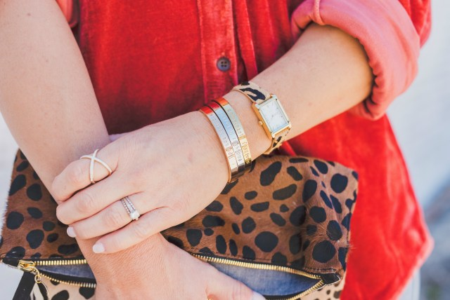 Leopard watch Stella and Dot