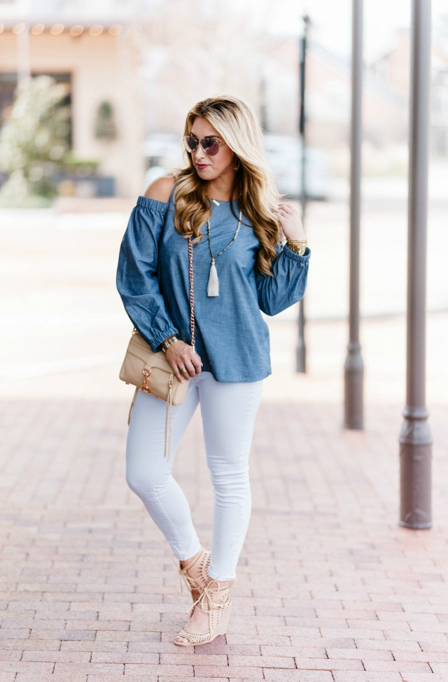 How to style chambray this spring