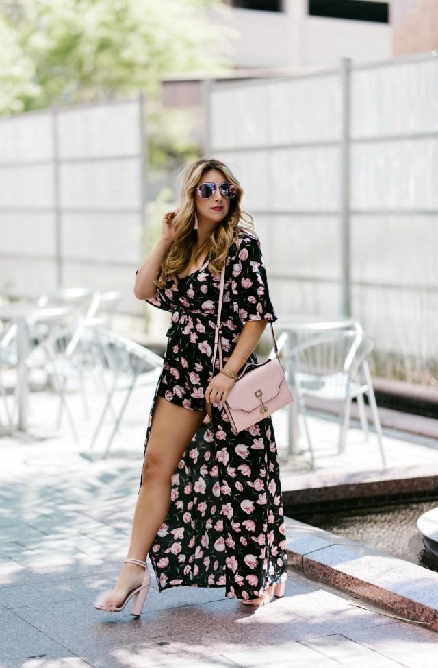 Romper Maxi Dress
