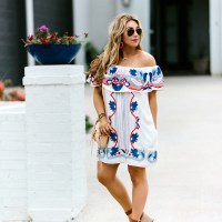 5 Tips for Spring Cleaning your Closet + An Easy Off the Shoulder Sundress