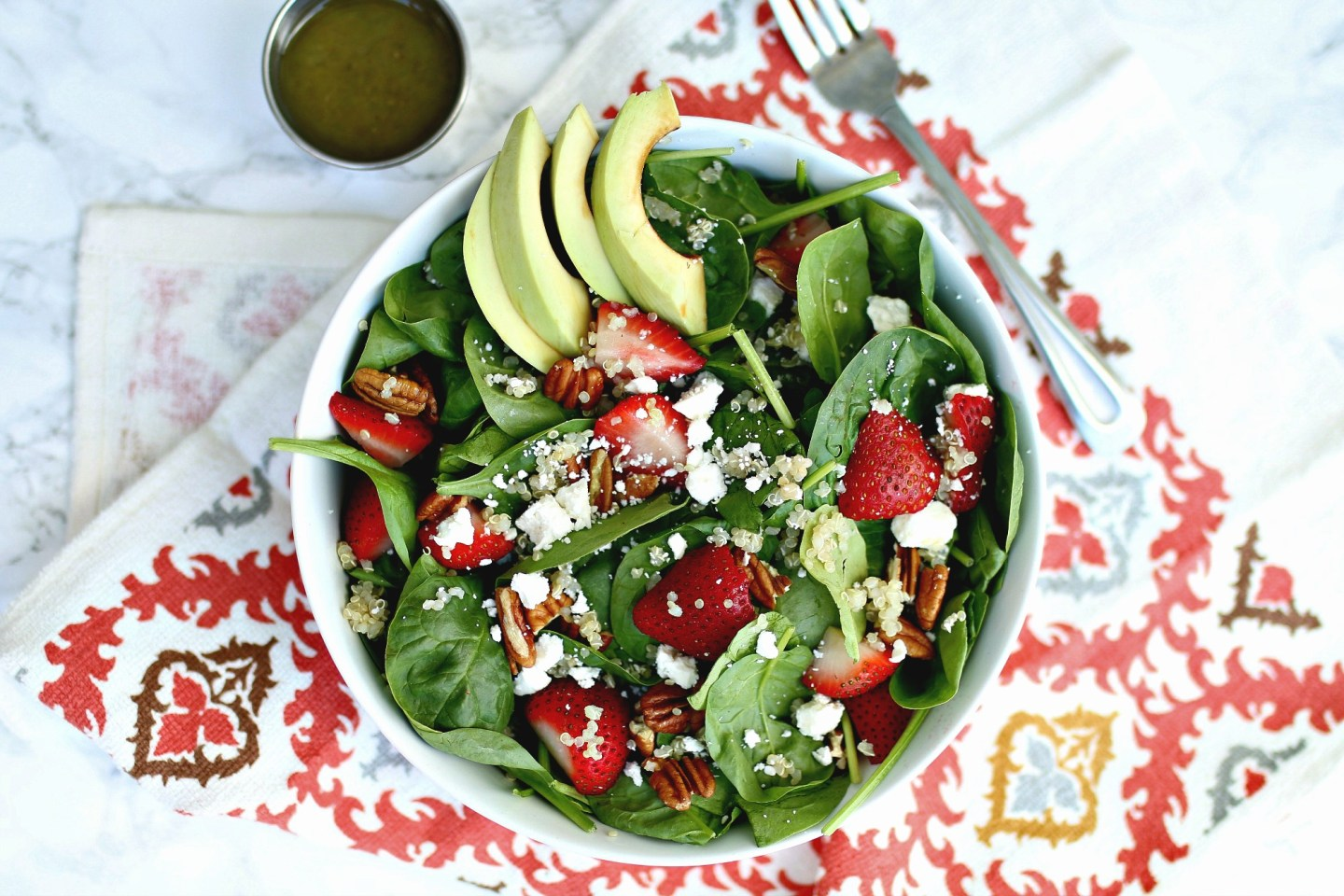 Quinoa Strawberry Summer Salad