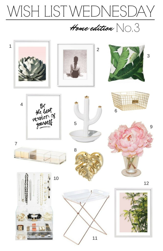 Wish List Wednesday No. 3 Home Edition