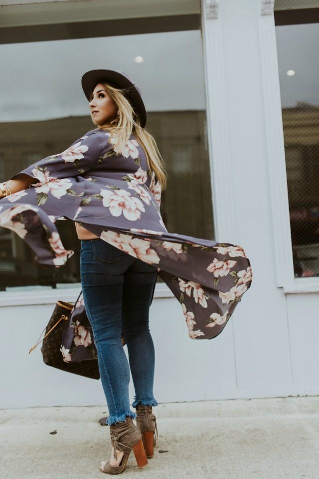 Fall kimono ideas