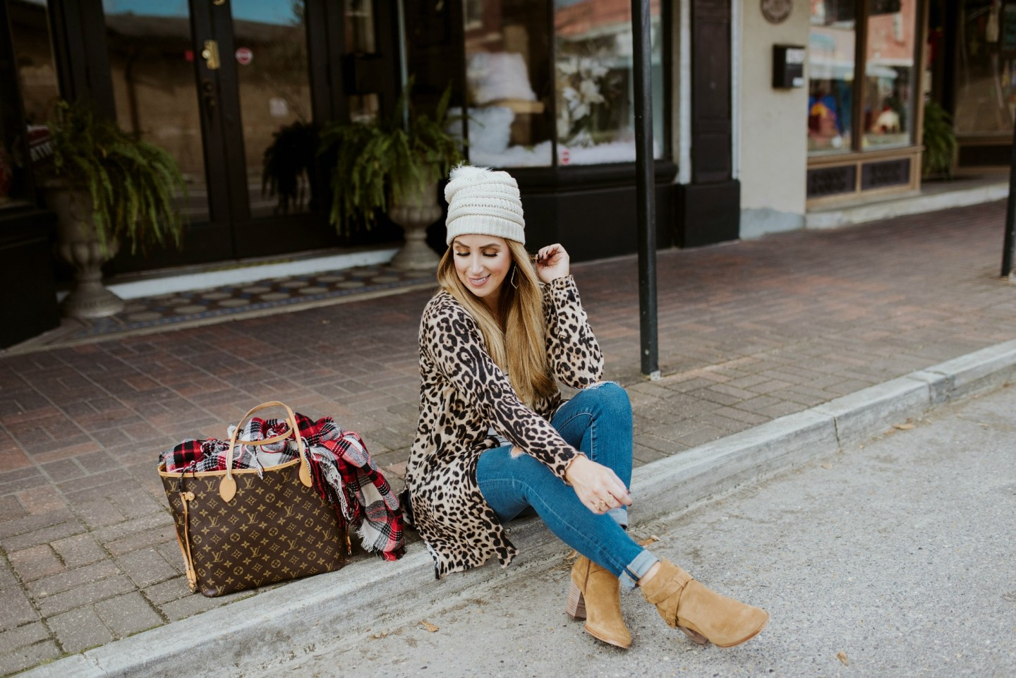 Casual Leopard + Pattern Mixing