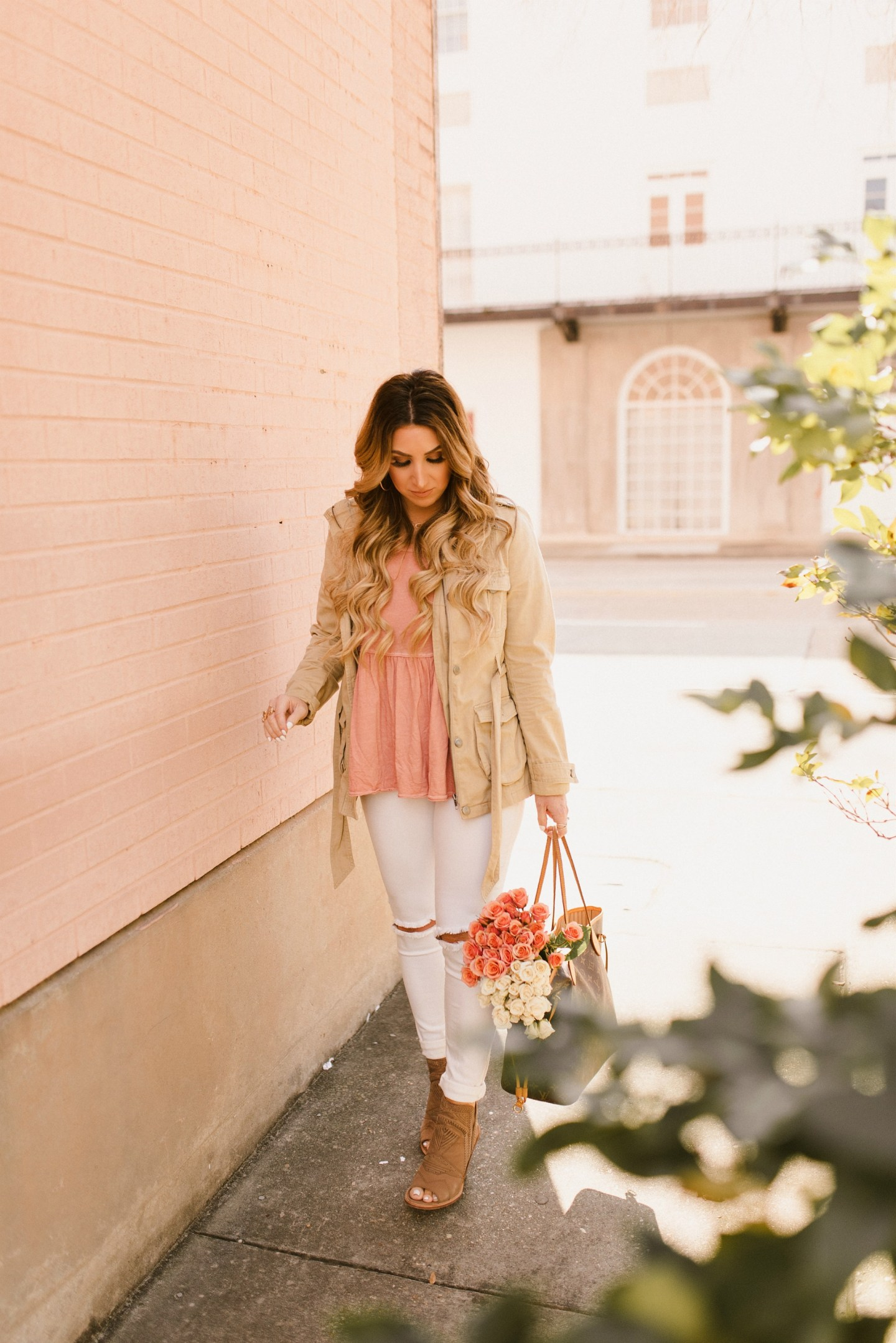 Blush Spring Outfit Ideas