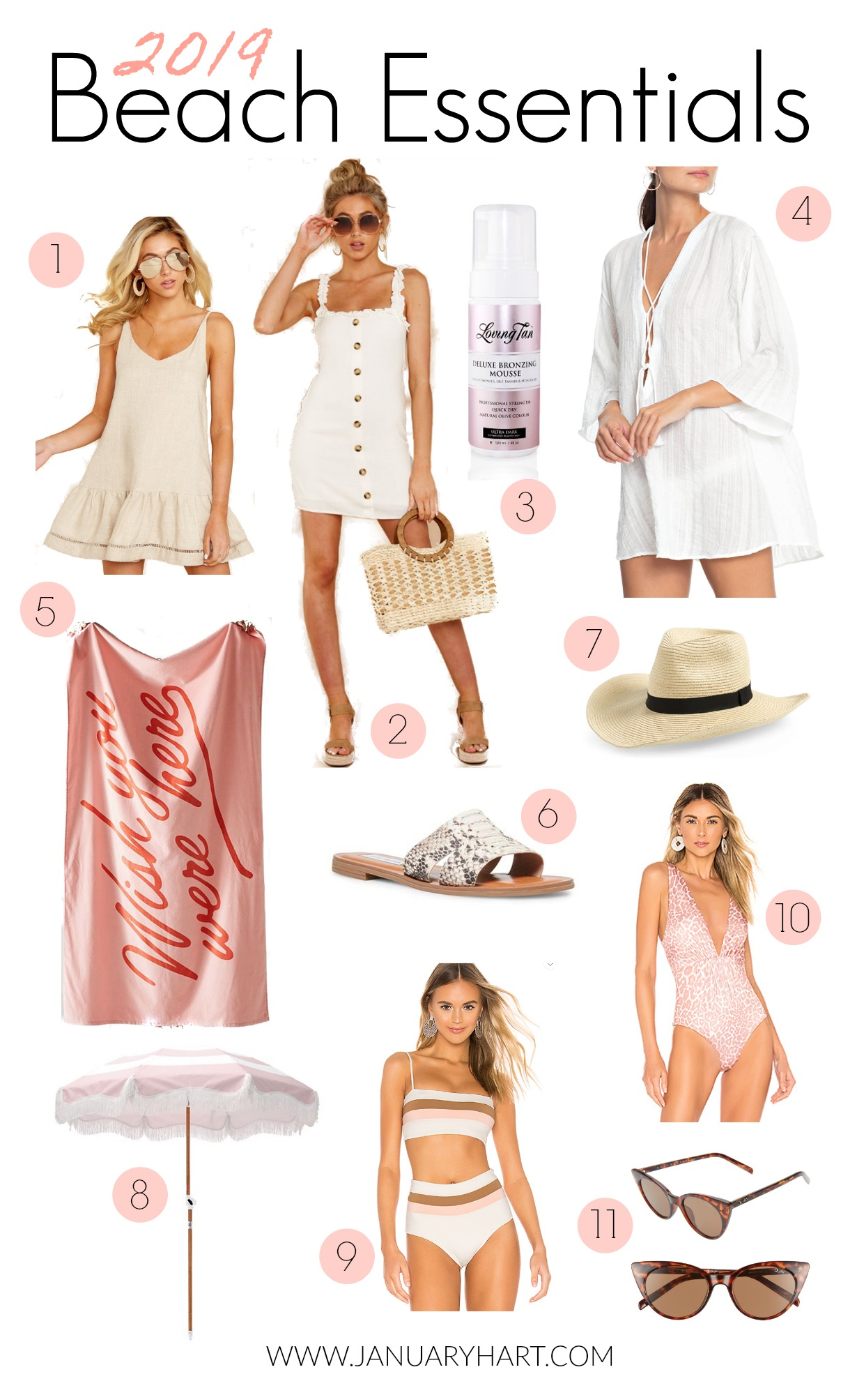 beach essentials to have