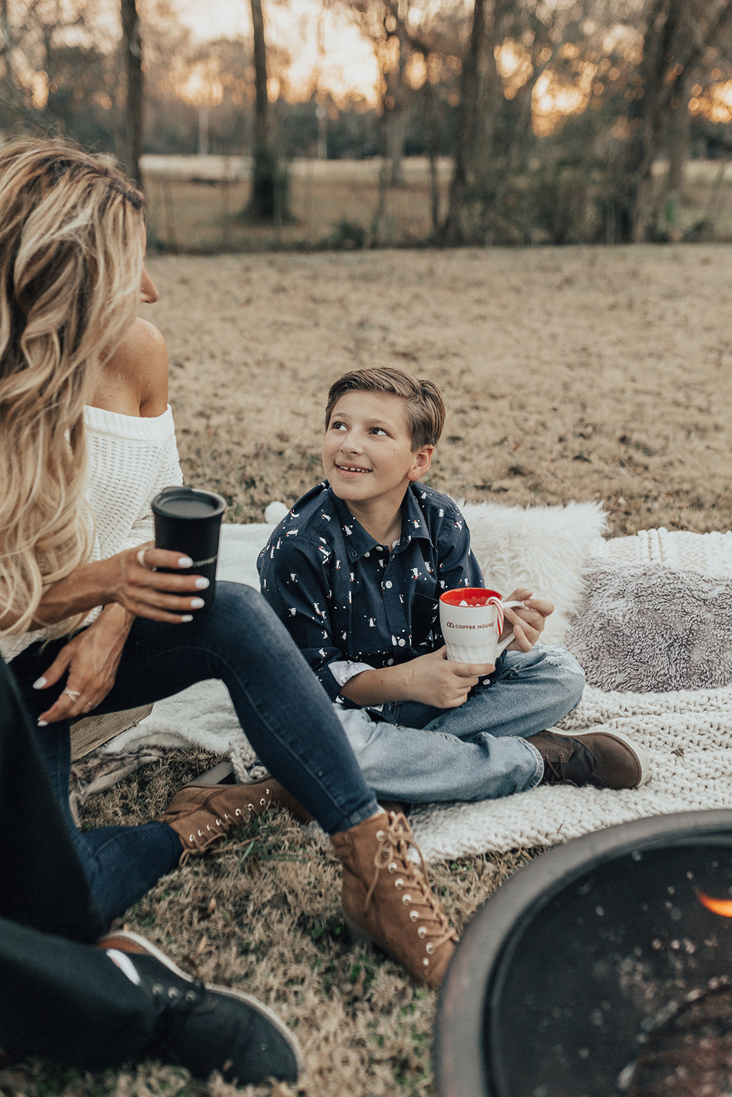 Mother and Son Photoshoot ideas