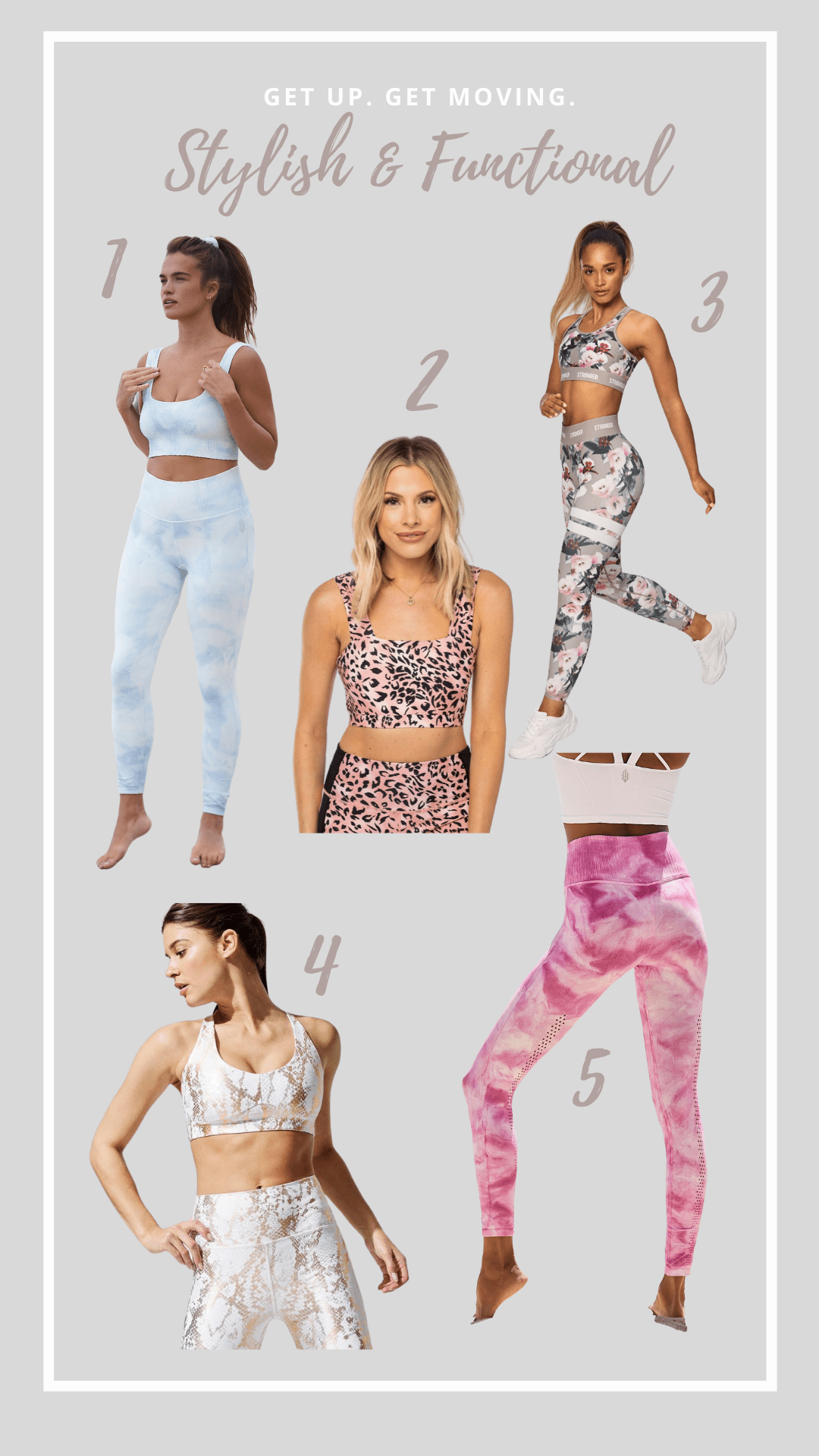 stylish active wear outfits