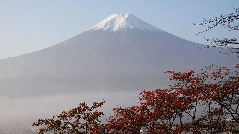 The mountain is located only 60 miles (96.56 km) from japan's capital, tokyo. Climbing Mount Fuji