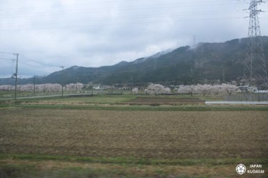 Trajet en JR limited express konotori 5, couvert par le JR pass entre Kyoto, Osaka et Kinosaki onsen.