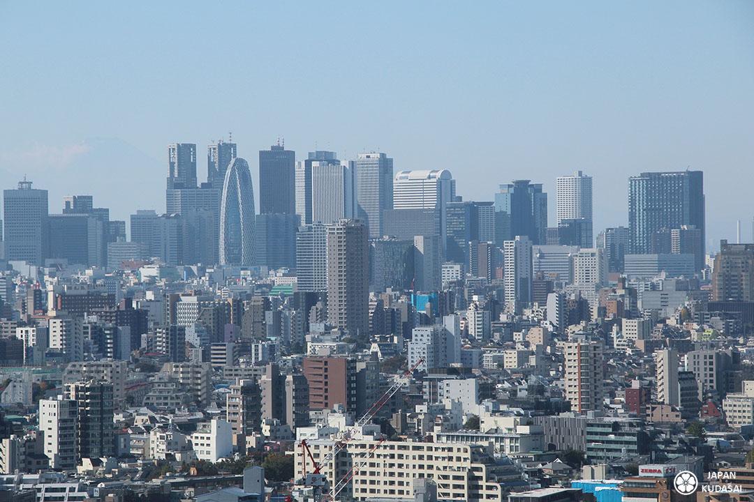 Shinjuku - Vue depuis la terrasse du Bunkyo civic center