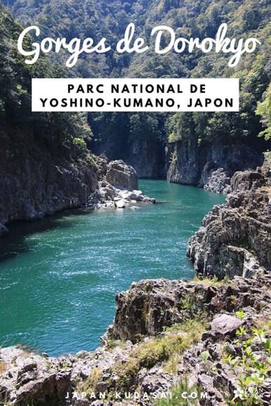 Embarquement immédiat pour les gorges de Dorokyo, un Japon naturel peu connu !