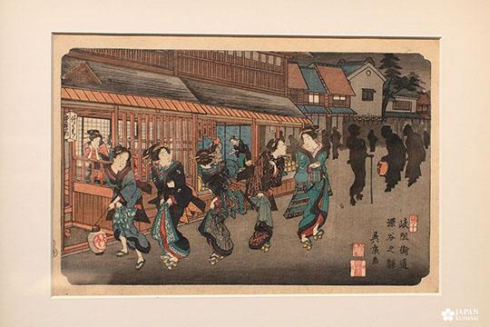Exposition estampes sur la route du kisokaido musée cernuschi (4)