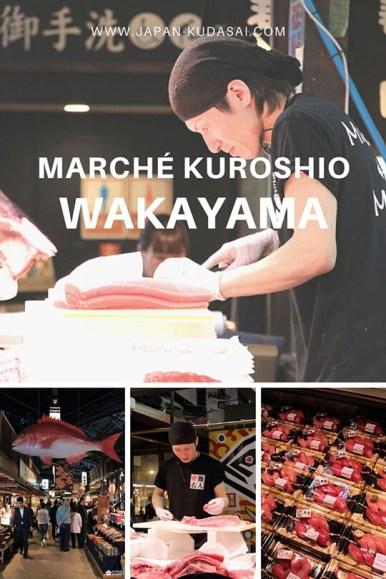 Gastronomie et cuisine japonaise - déguster des sashimi de thon rouge ultra frais au Kuroshio market