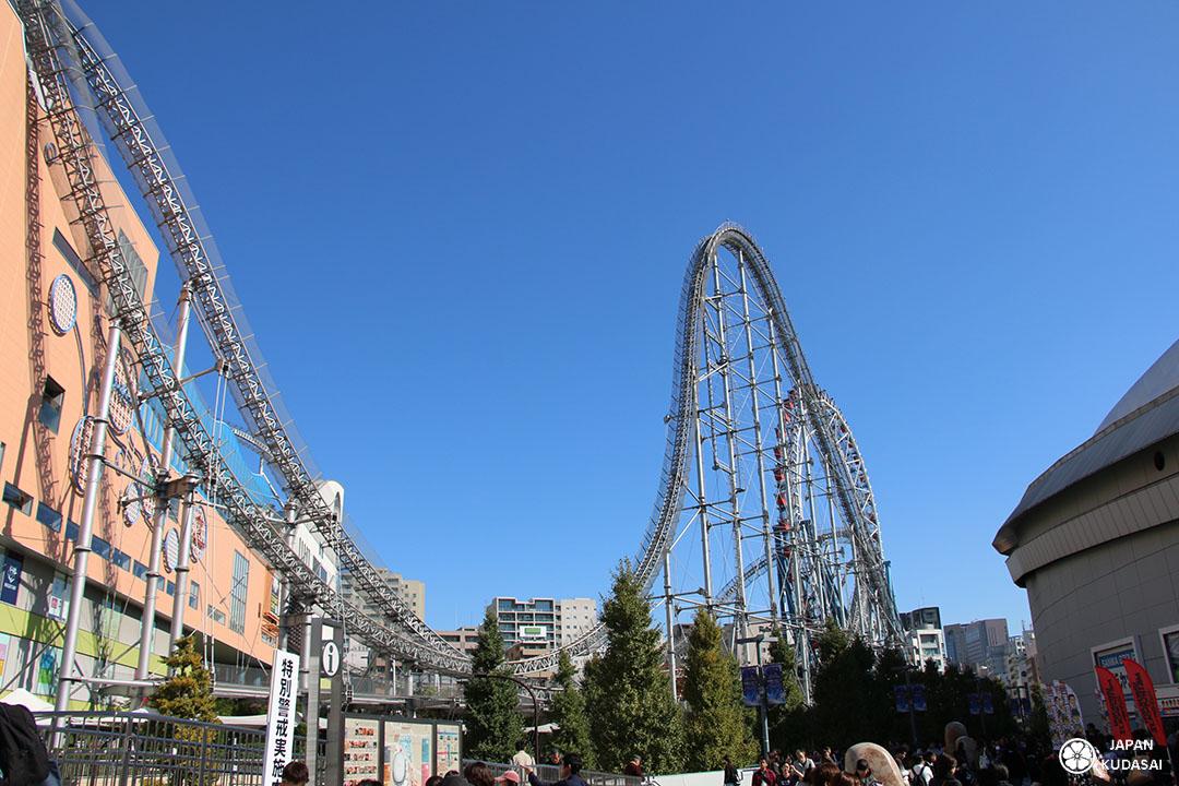 LaQua roller coaster Tokyo Dome