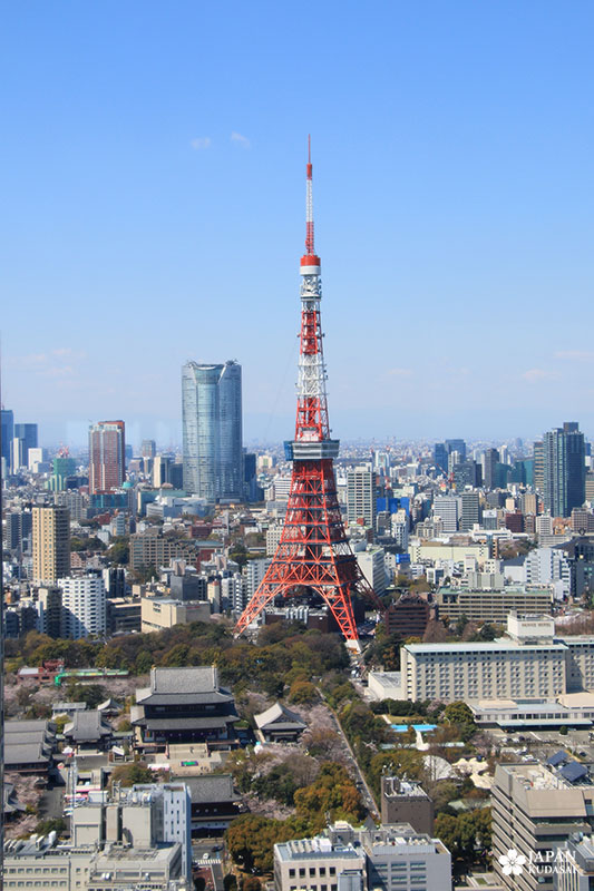 lego architecture tokyo tower in the real life