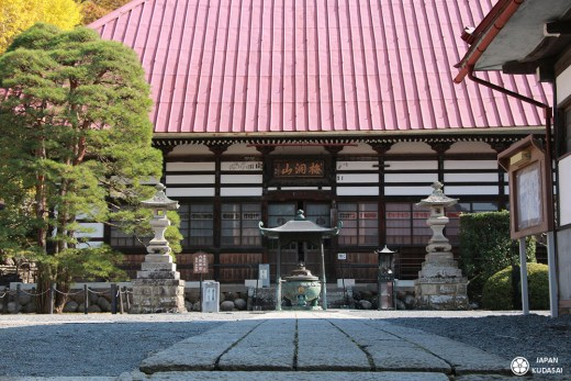 Obuse préfecture de nagano temple ganshoin hokusai