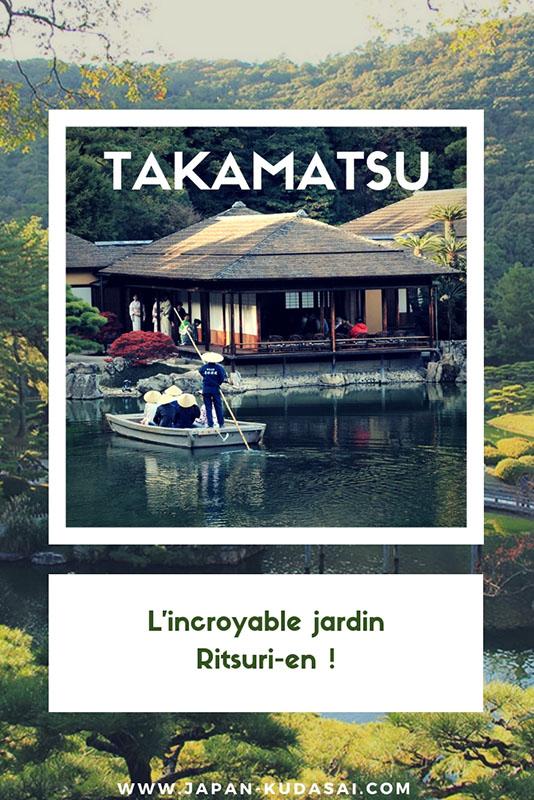 Un des 3 plus beaux jardins japonais - Ritsuri-en, Takamatsu