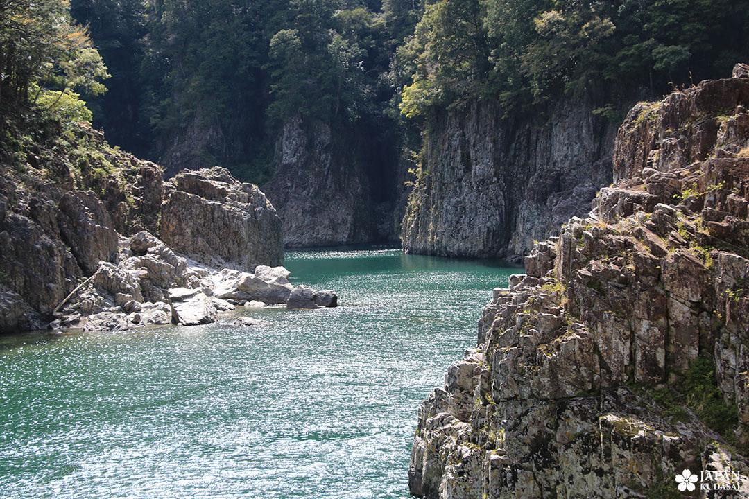 Beauté géologique des gorges de Dorokyo, proches de Shingu