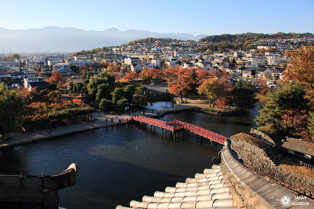 vue depuis le donjon du chateau de matsumoto