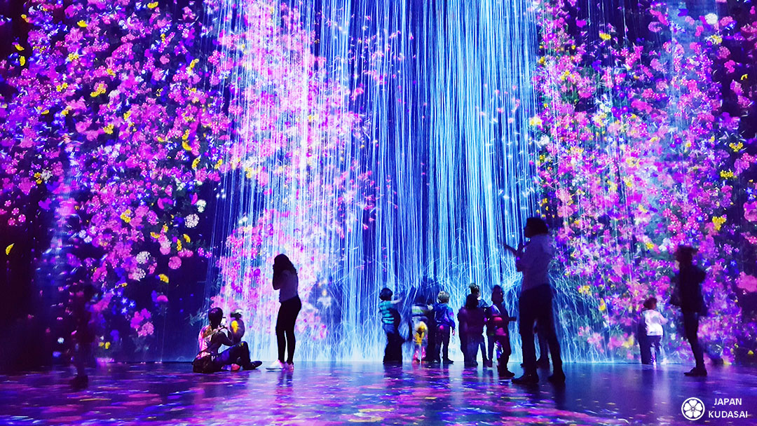 Exposition Teamlab Paris au parc de la Villette