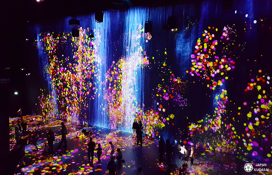 artistes japonais collectif teamlab paris 2018