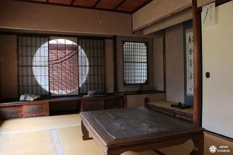 intérieur bois temple zen