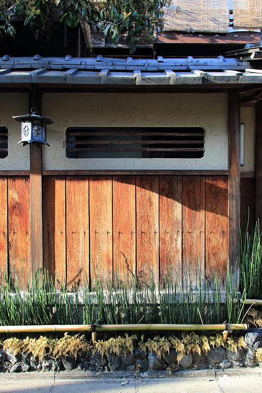 machiya wall kyoto