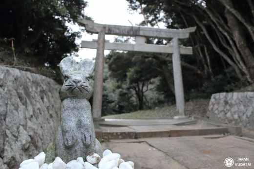 Japan kudasai présente, sur le blog Japon, le sanctuaire et le temple Hakuto-jinja, dans la préfecture de Tottori. Il est érigé pour commémorer l'histoire d'un lapin blanc sauvé par Okuninushi après s'être fait attaqué en sautant sur le dos de requins. Ambiance très kawai.
