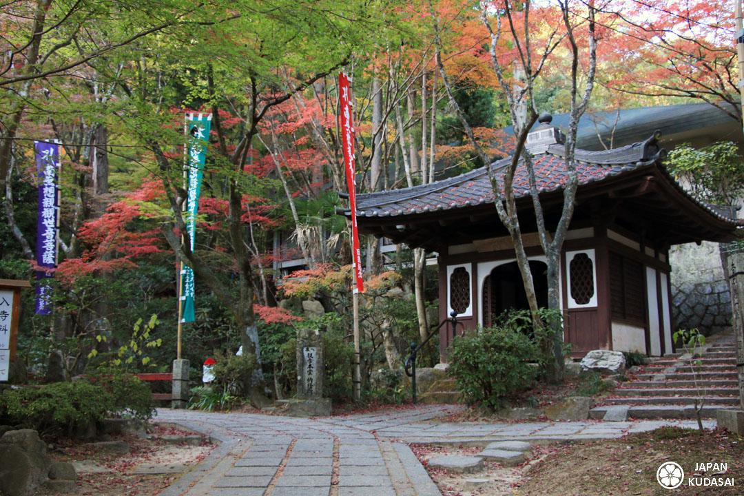 Le temple Mitaki dera est une petite perle cachée dans la montagne proche d'Hiroshima.