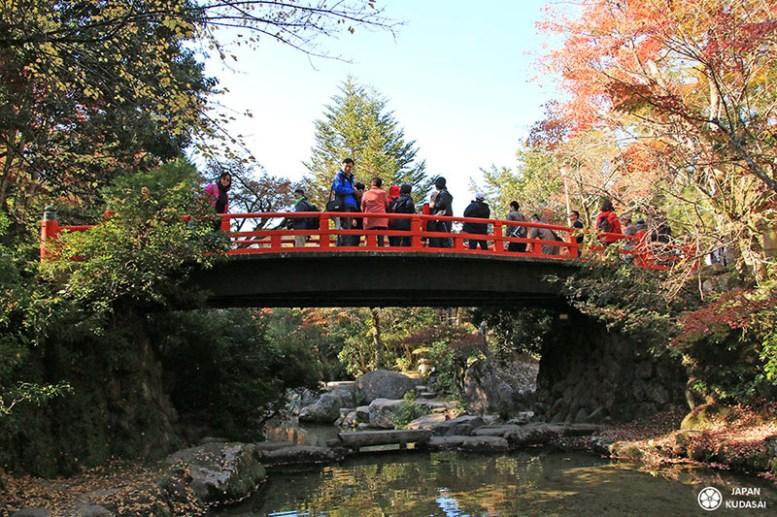pont rouge miyajima