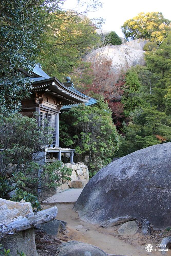 temple de kukai mont misen miyajima
