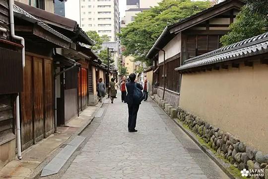 promenade à kanazawa