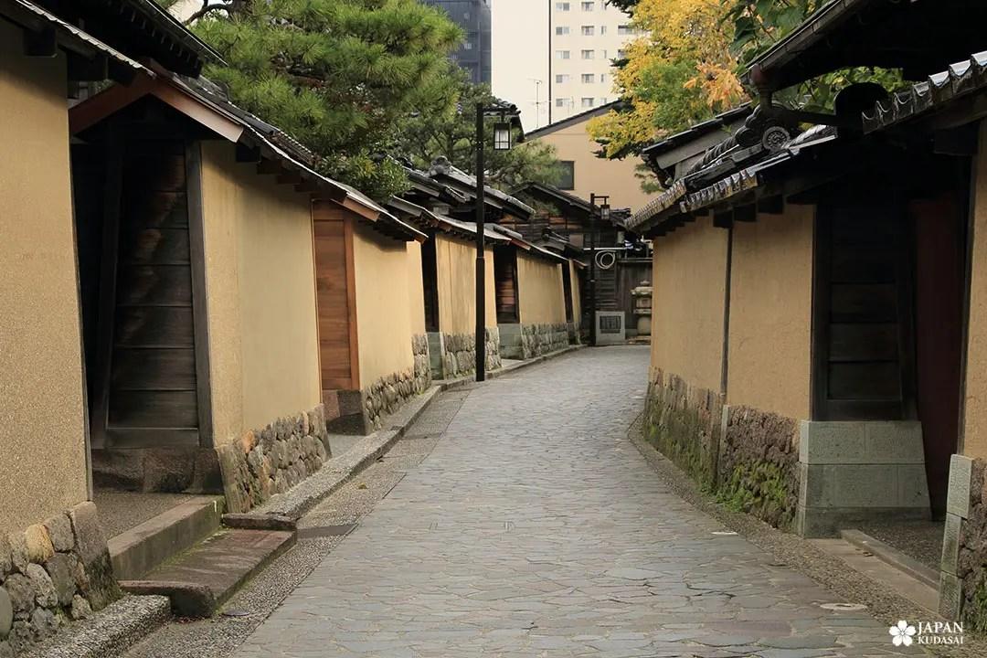 ruelle mur nagamachi