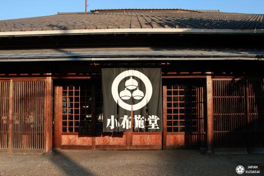 Obuse, village de la préfecture de Nagano au Japon capitale de la chataigne