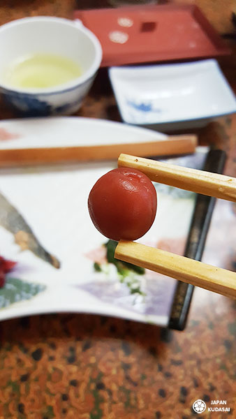 umeboshi prune salée ryokan