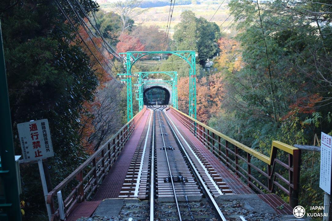 Japan kudasai présente dans son blog de voyage au Japon le sanctuaire shinto de Kyoto et de Yawata sur le mont Otokoyama, en période de koyo, momijis.