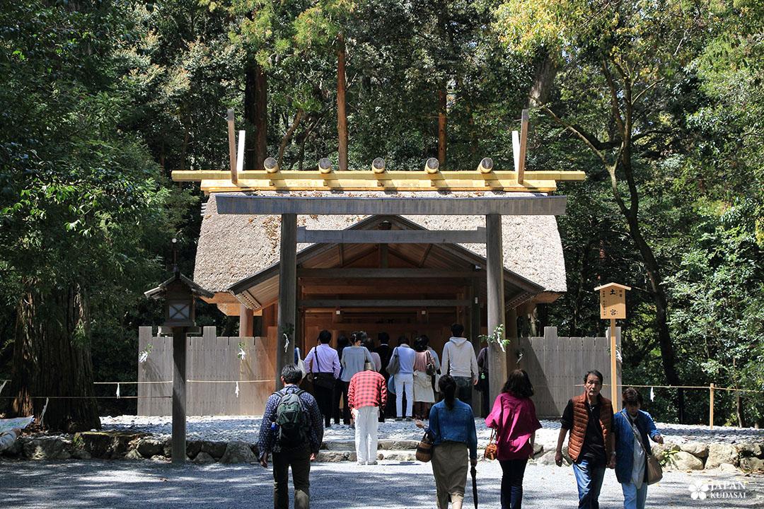 pavillon sanctuaire naiku ise jingu