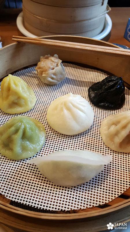 Bouchées vapeur chinoises