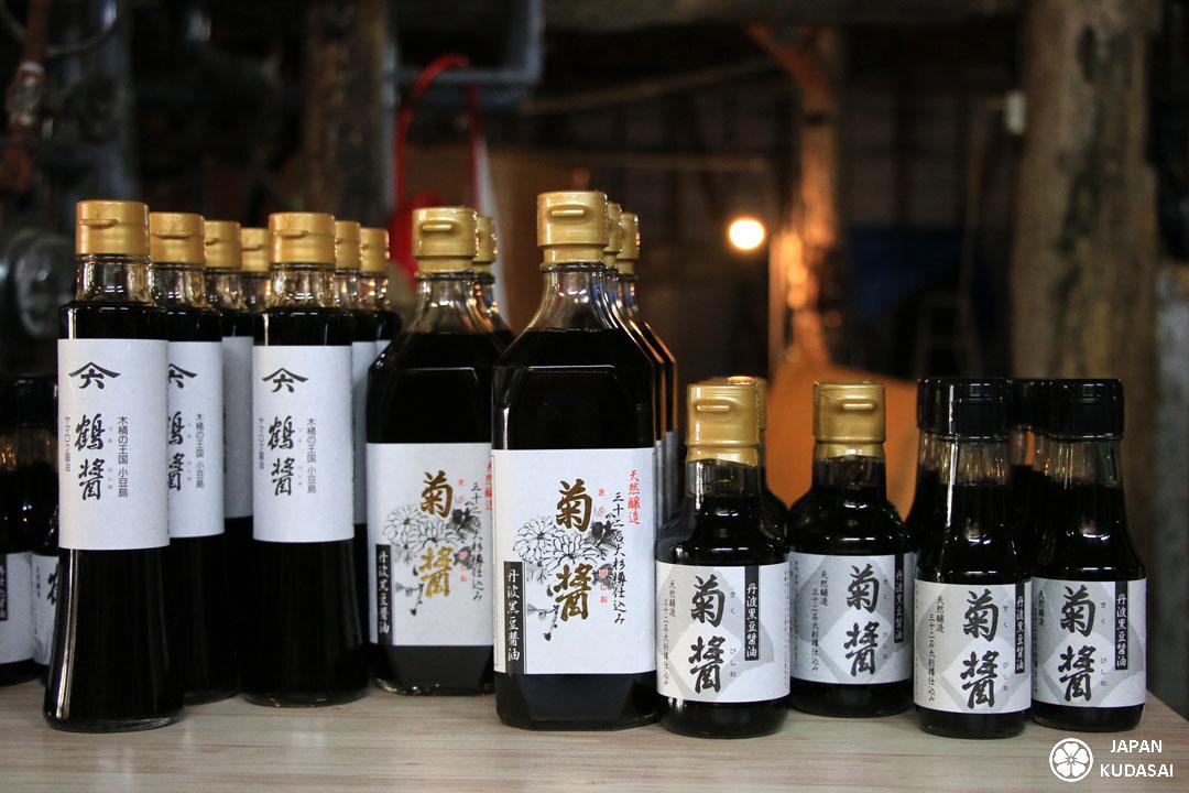 Sauce soja Yamaroku de Shodoshima.