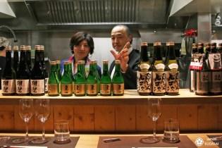 Première dégustation de sakés «Japan kudasai» !