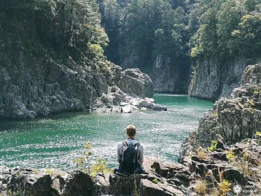 Les gorges de Dorokyo, structure géologique dans les montagnes de Wakayama