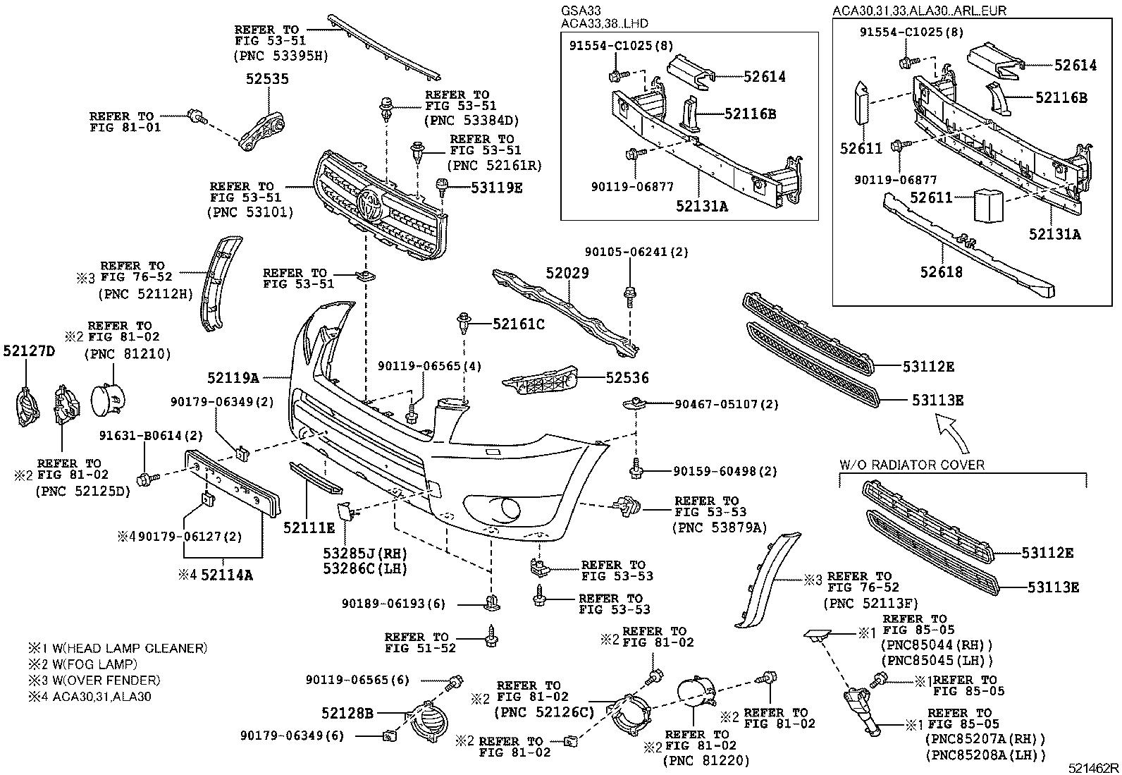 Toyota Rav4 Parts Diagram