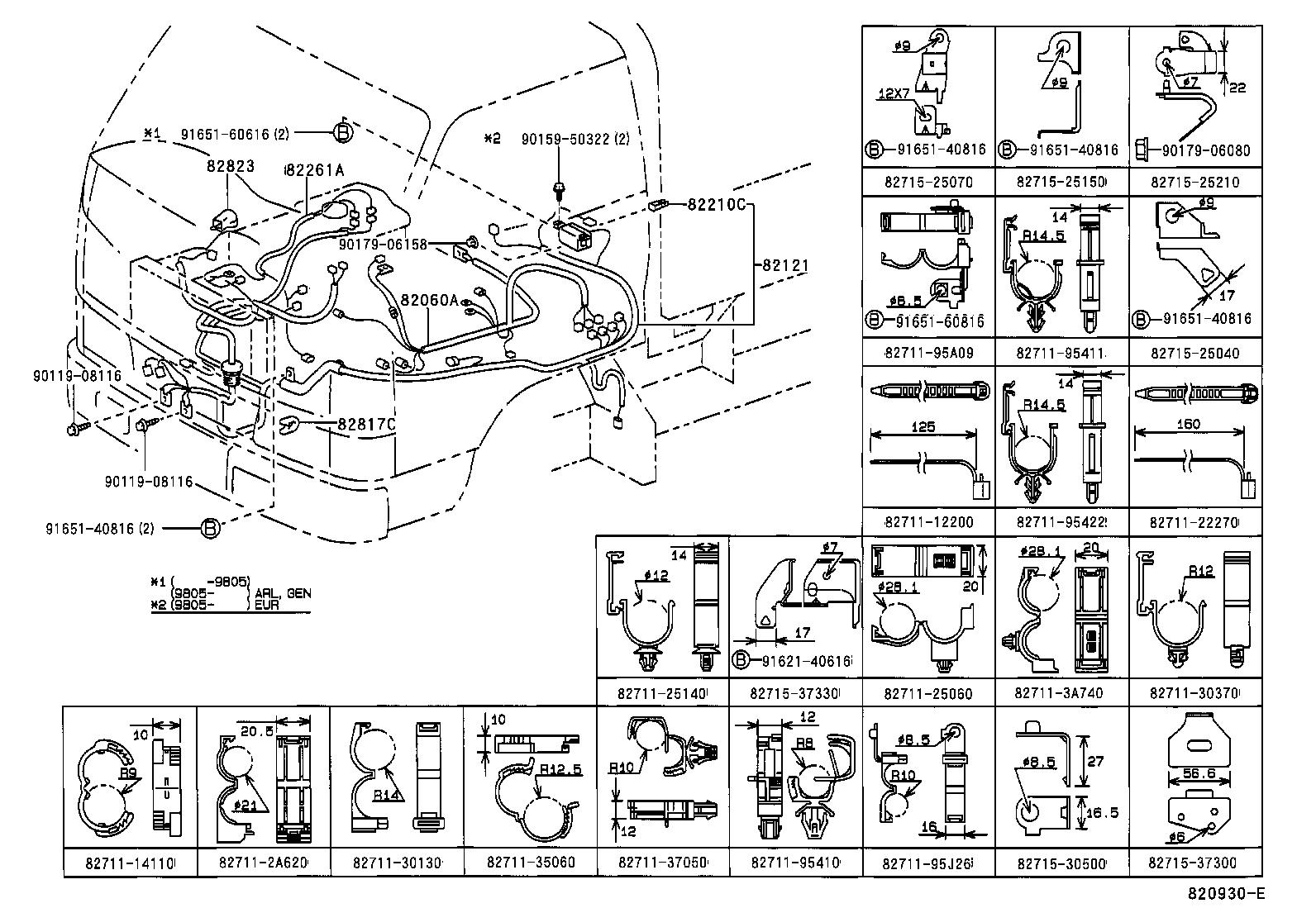 Wiring Schematic Toyota 4y