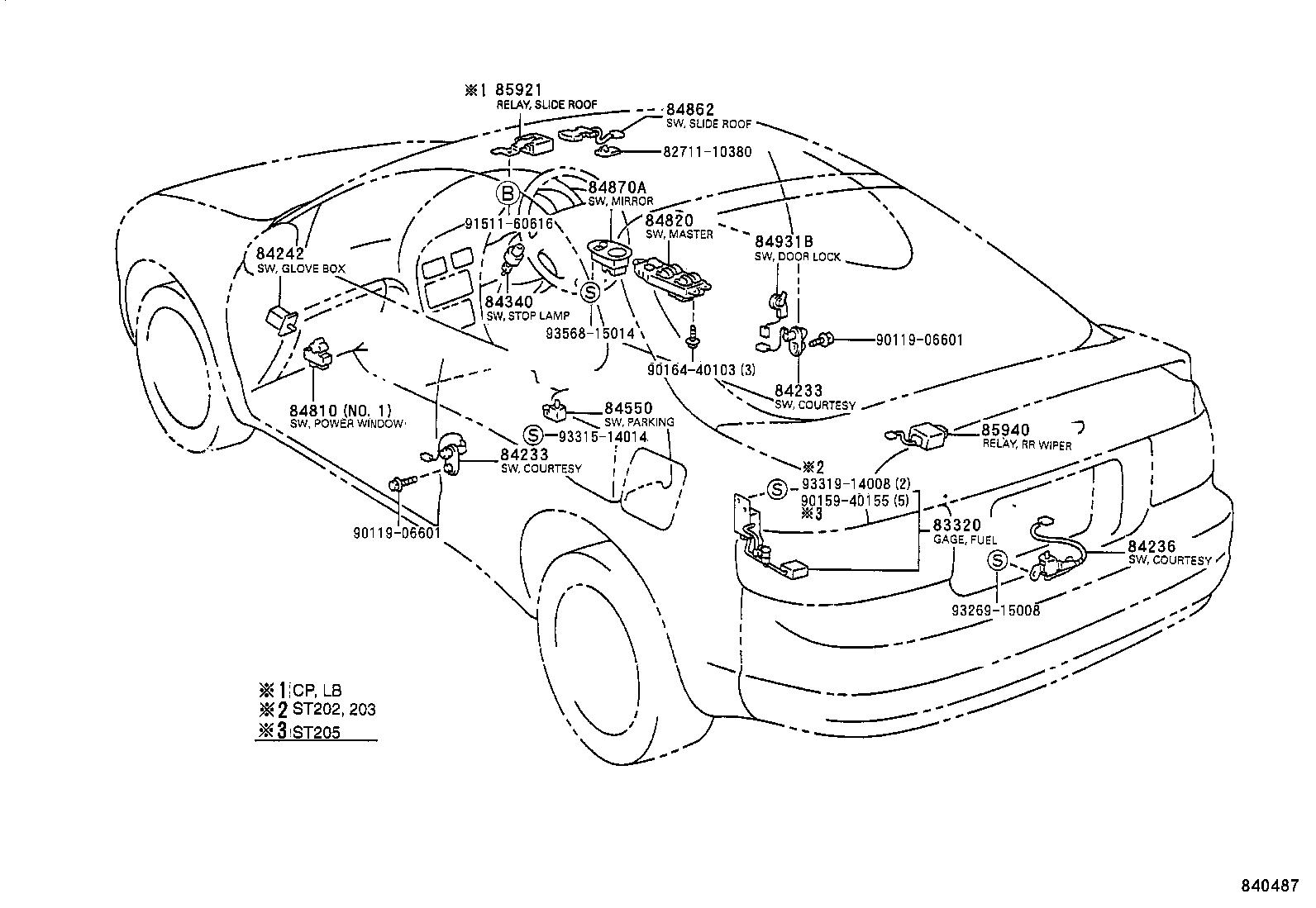 Toyota Celicast205l Blmvzw