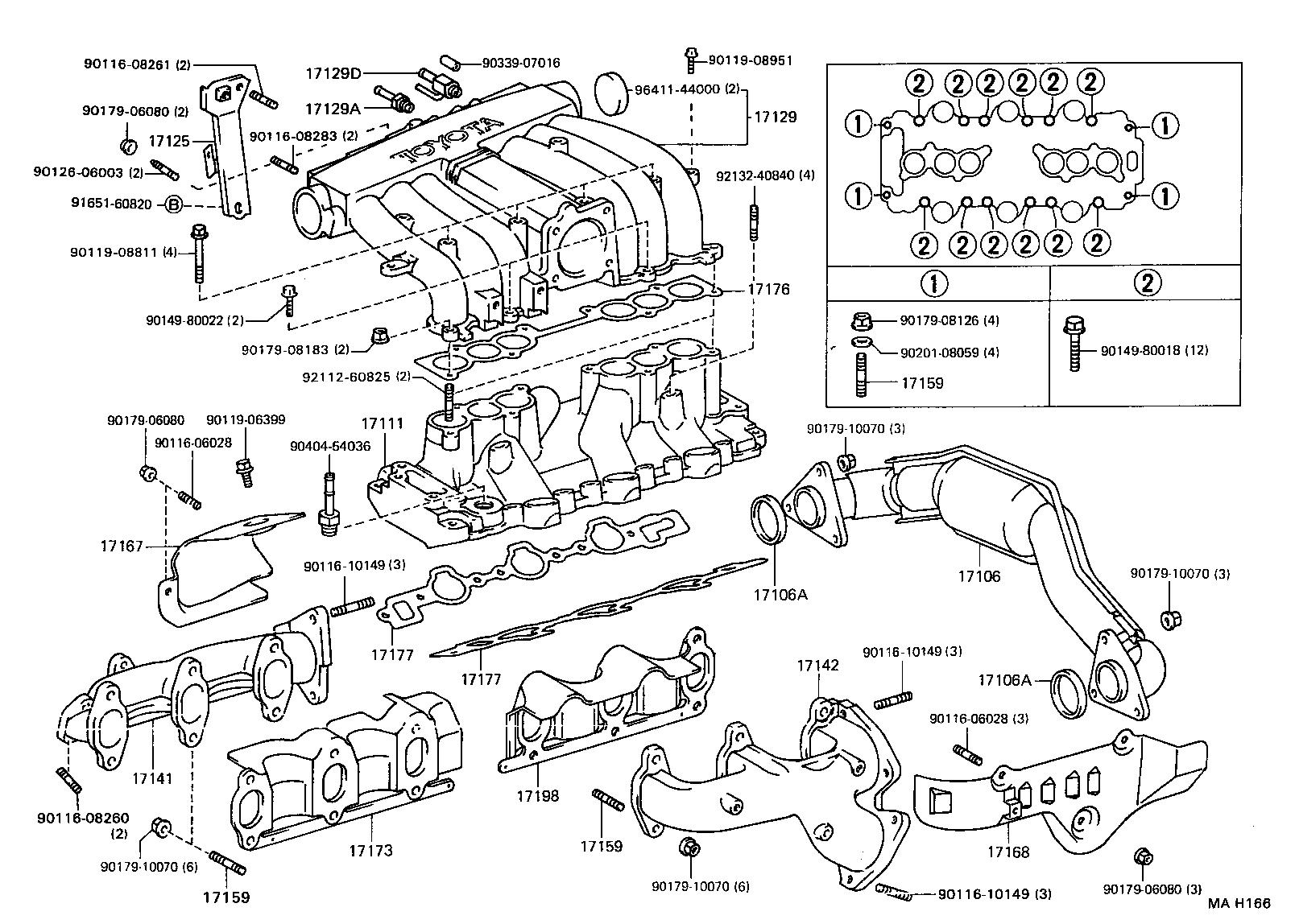 Toyota Pickup Engine V6 3 0