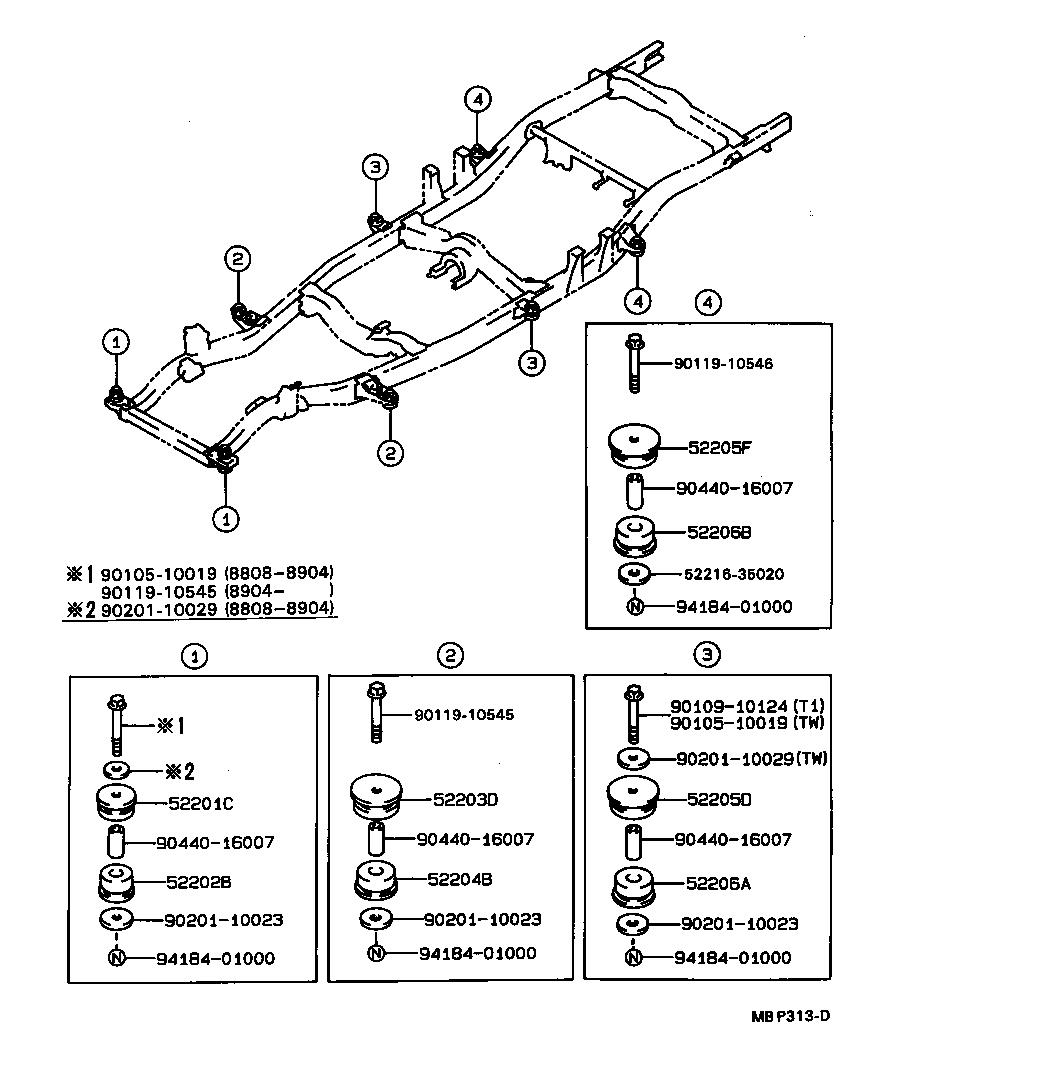 Toyota Hilux Jppln110l Crmdsw