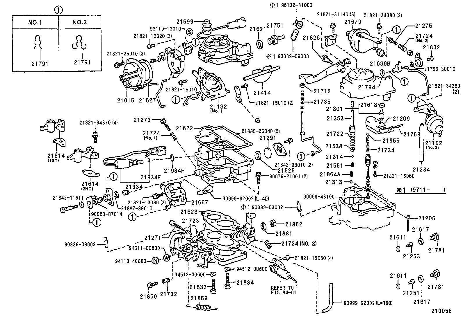 Toyota Camry Parts Diagram