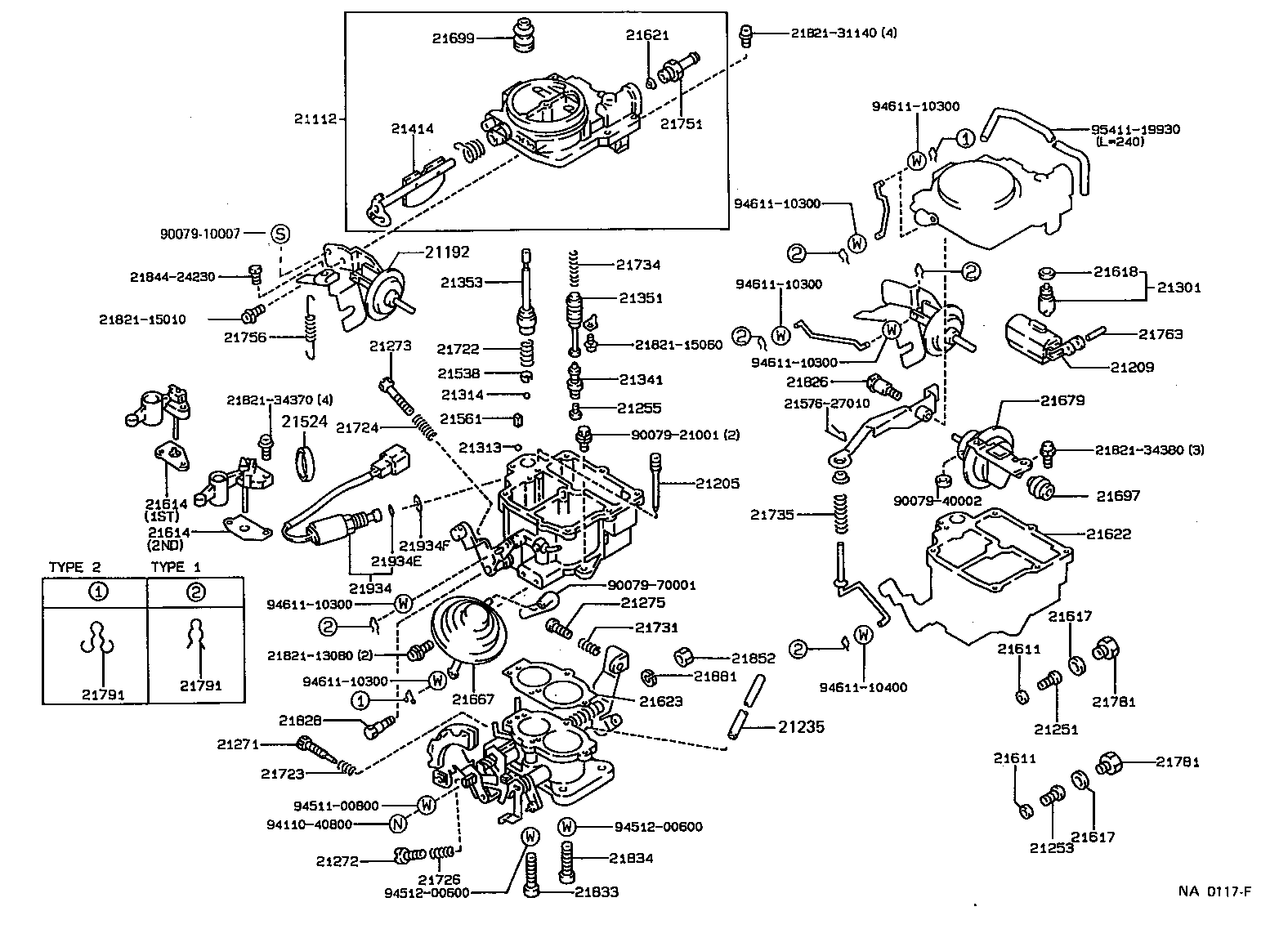Toyota Corolla Engine Carburetor Diagram Full Hd